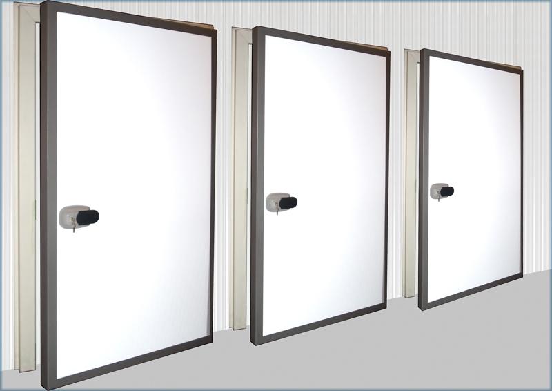 Portes pour chambres froides fi 11a poign e standard for Panneau de chambre froide